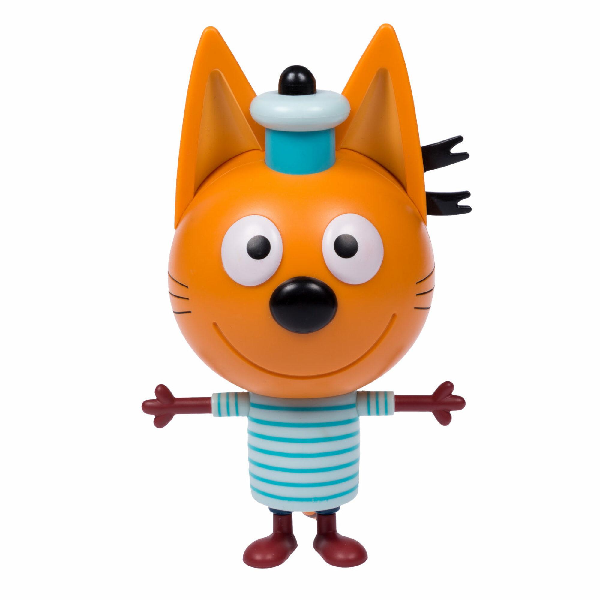 Купить Т16181, Три кота Коржик 15 см фигурка пластиковая со звуком в коробке, Мужской|Женский (shop: GulliverMarket Gulliver Market)