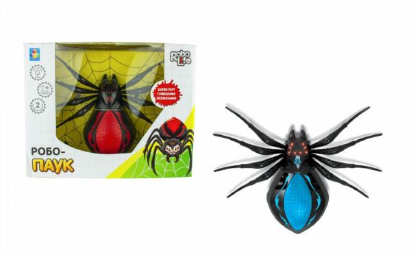 Робо-паук со светом, звуком, движением