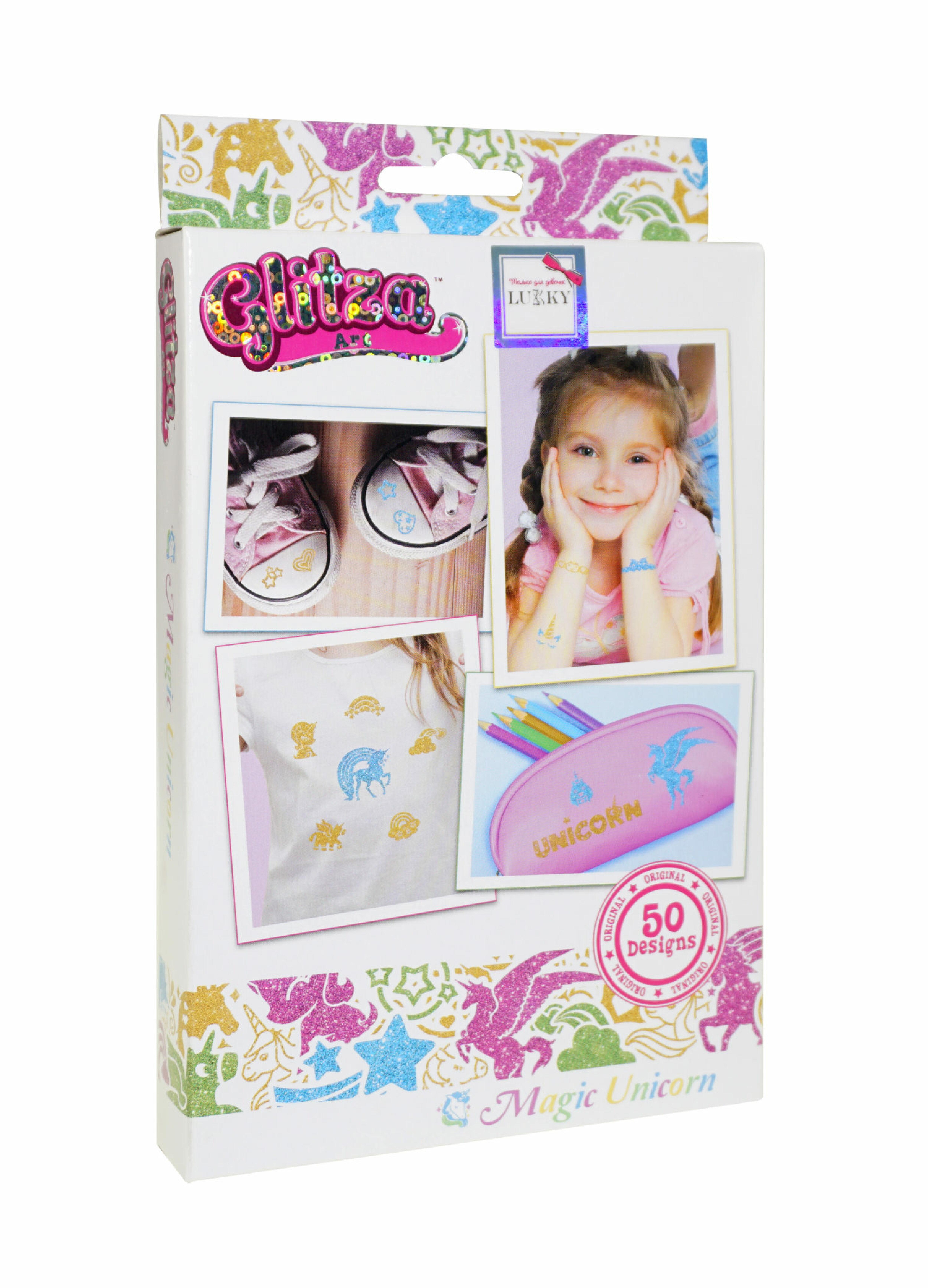 Купить Т18784, Glitza Art Lukky набор Волшебные единороги , Женский (shop: GulliverMarket Gulliver Market)