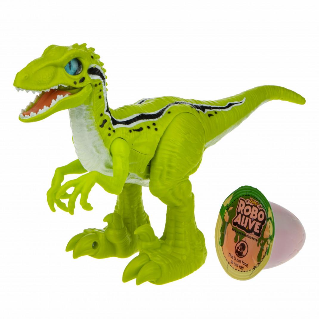 Фото - Zuru ZURU Игровой набор Робо-Раптор RoboAlive(Зеленый) робо змея zuru roboalive