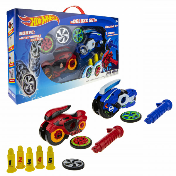 Hot Wheels Spin Racer Deluxe Set