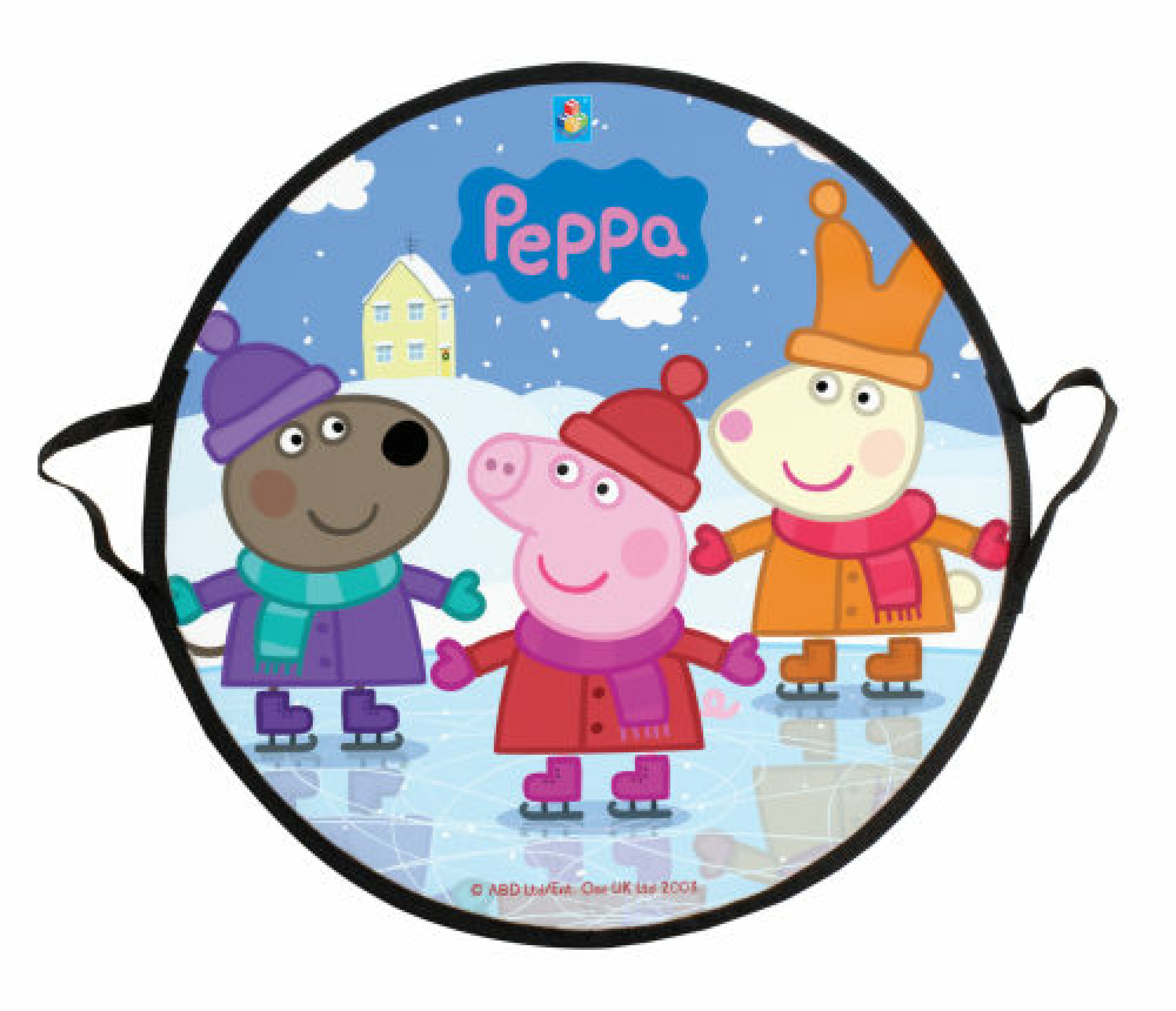 Peppa Pig ледянка 52 см круглая Disney Т58470