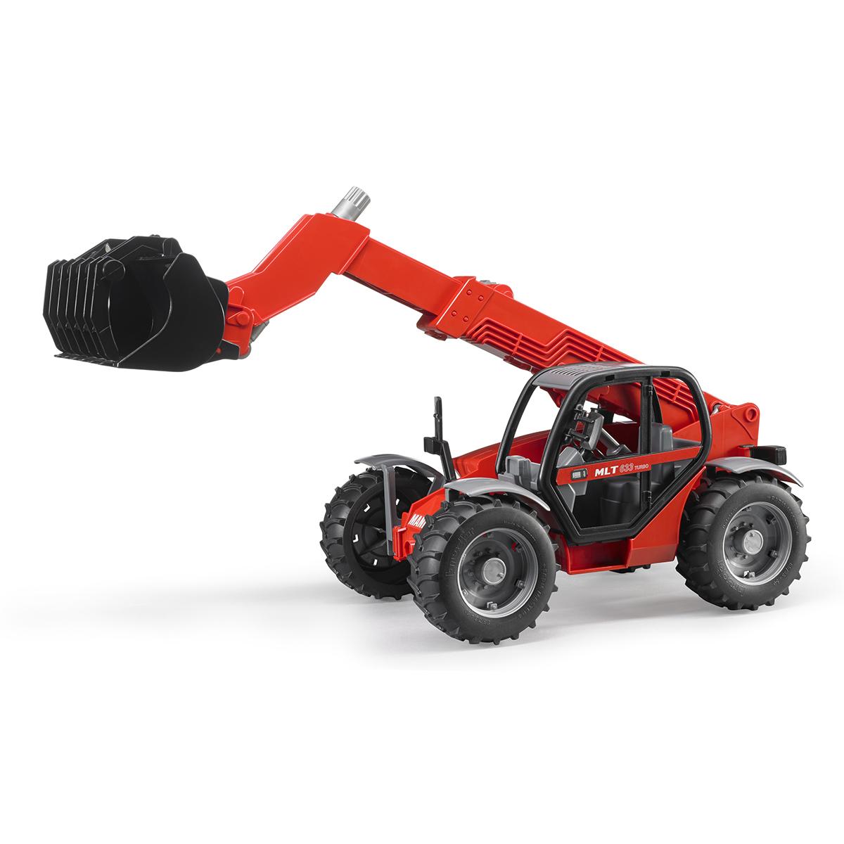 Купить 02-125, Bruder Погрузчик колёсный Manitou MLT 633, Мужской (shop: GulliverMarket Gulliver Market)