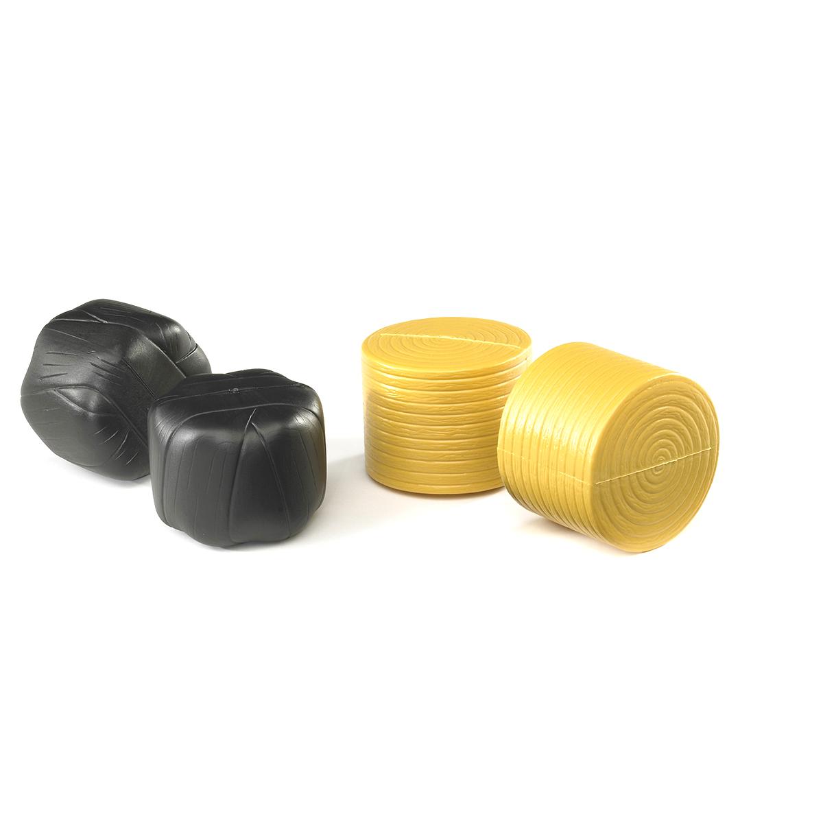 Аксессуары Bruder: 4 круглых рулона сена (два упакованных)(02-345)