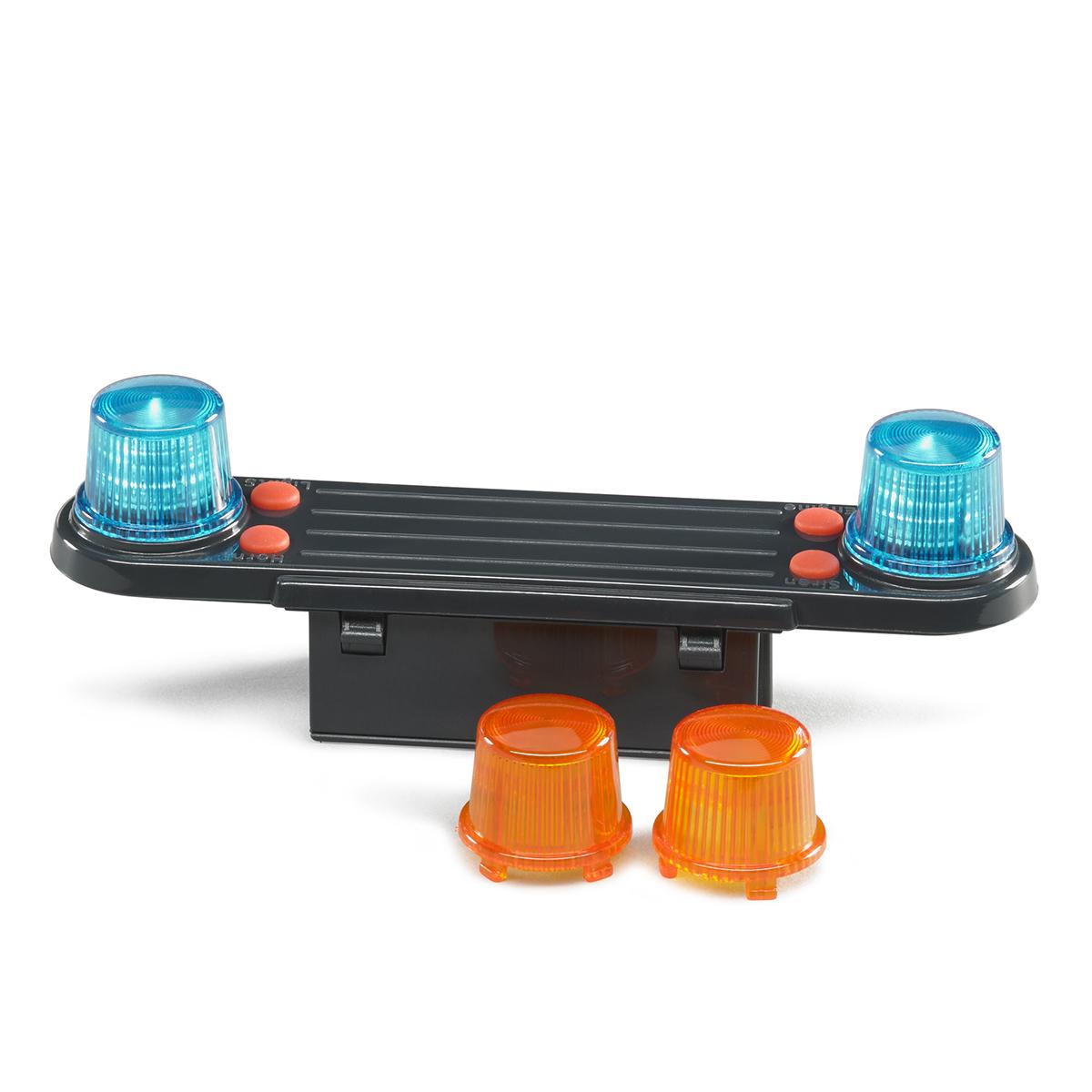 Аксессуары Bruder H: модуль со световыми и звуковыми эффектами для автомобилей Bruder 02-801