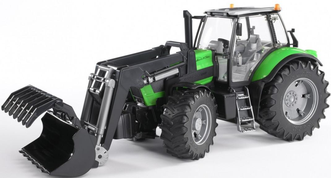 Bruder Bruder Трактор Deutz Agrotron X720 с погрузчиком