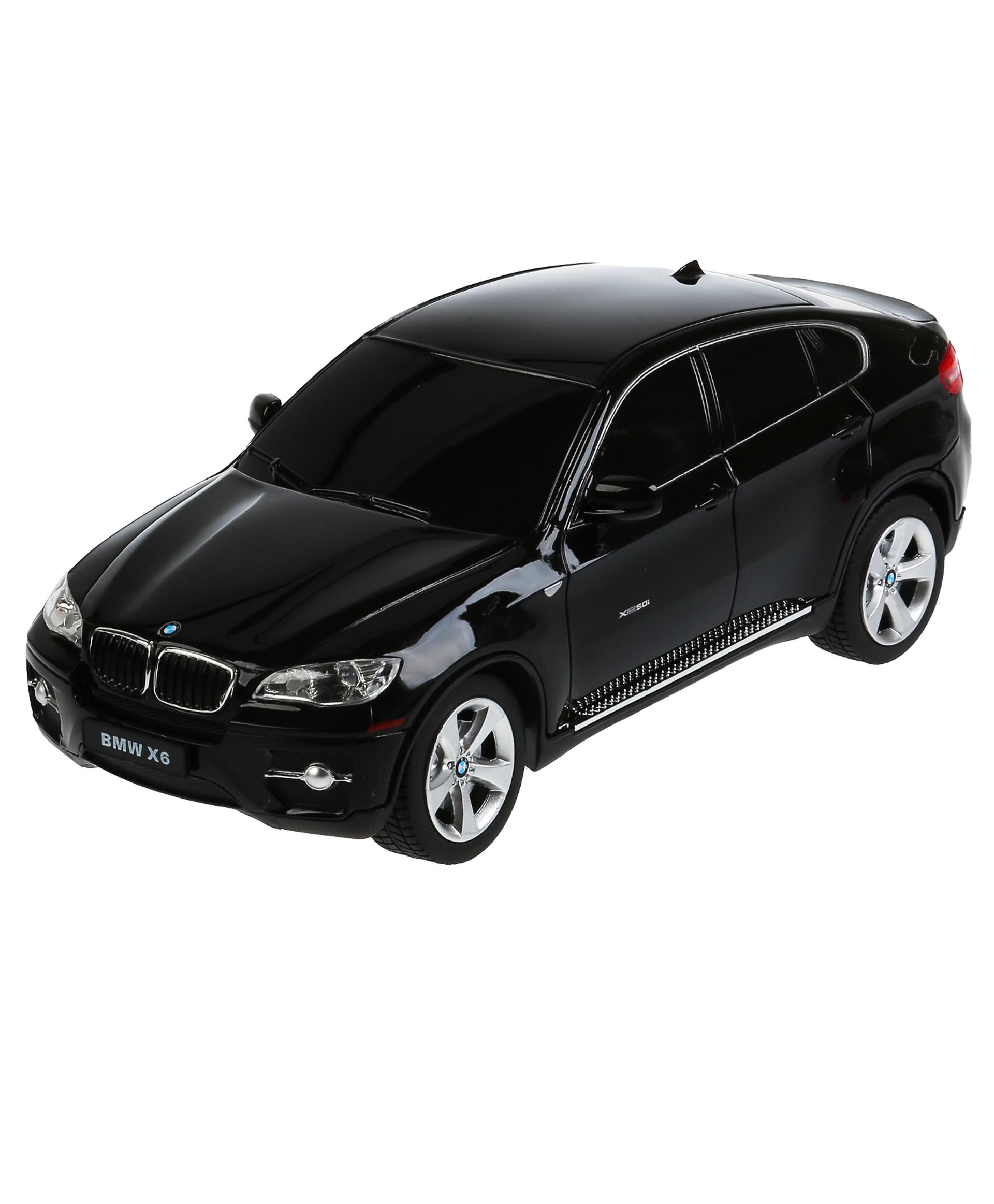 """Rastar Машина на радиоуправлении """"BMW X6"""" со светом 237420"""