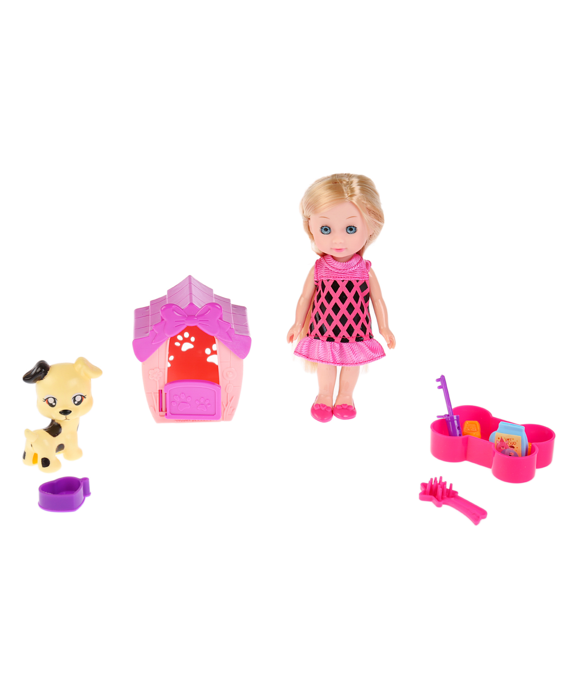 Карапуз Кукла Машенька с питомцем Hello Kitti