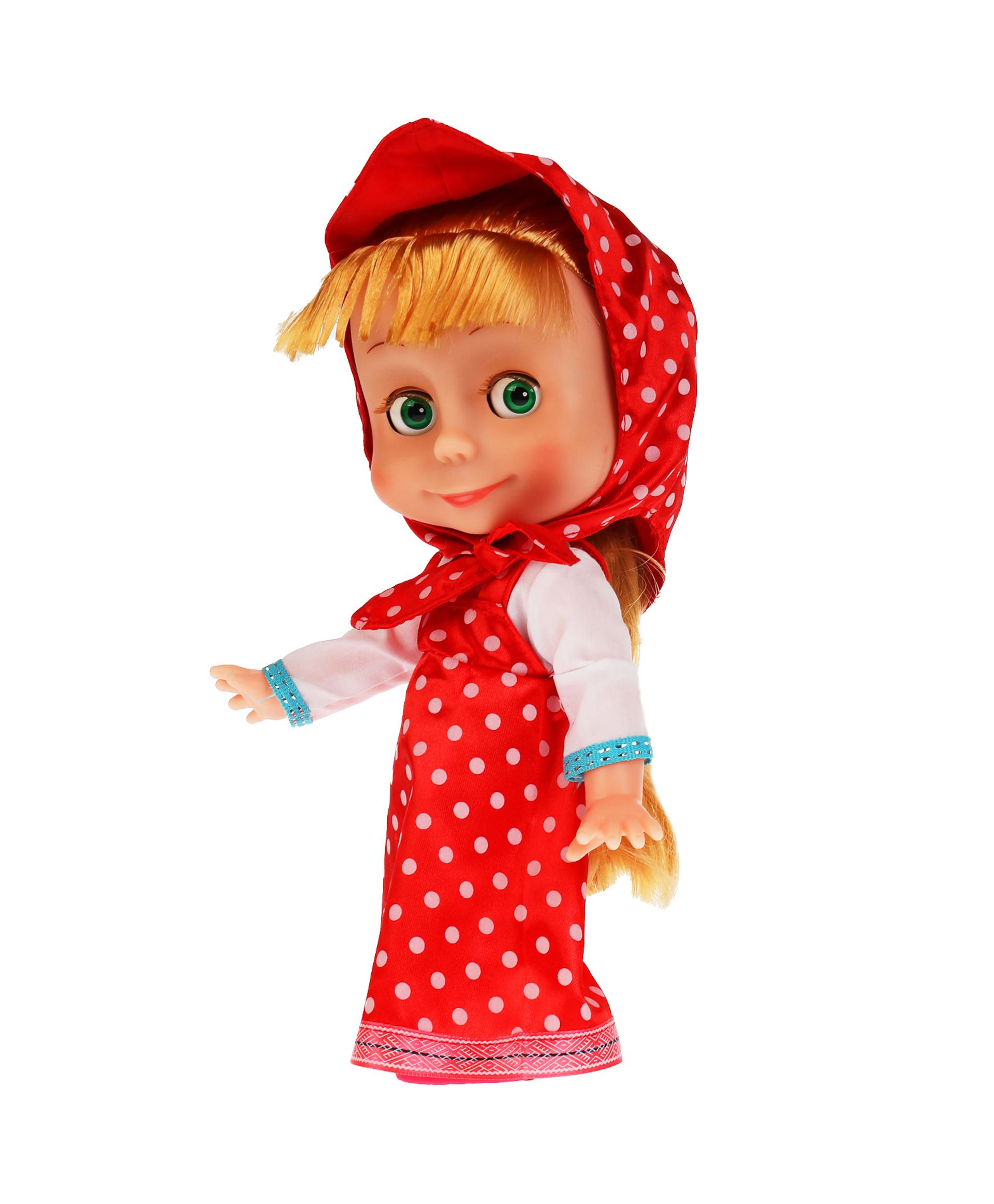 Карапуз Кукла Маша в платье в горох