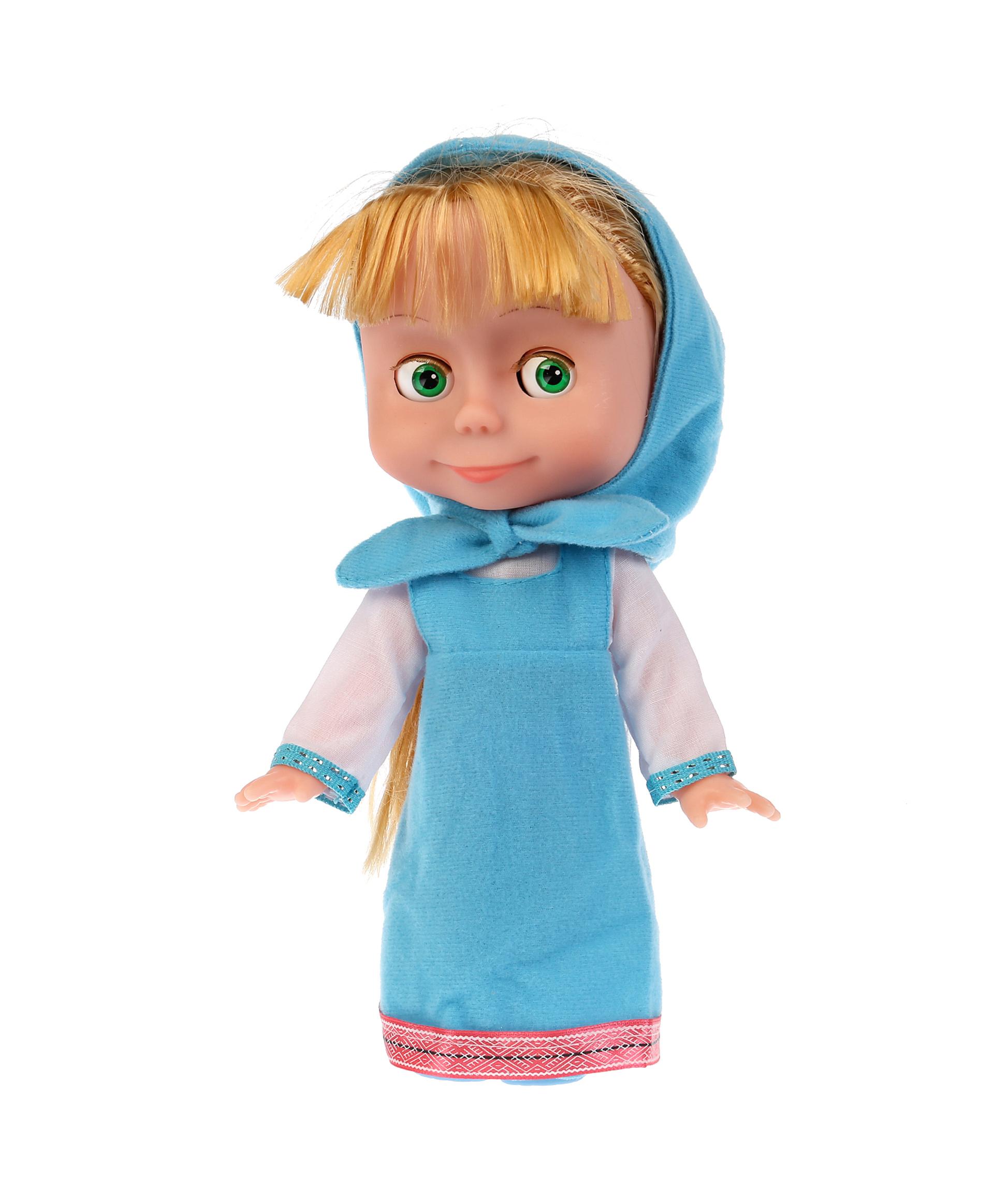 Карапуз Кукла Маша в голубом платье