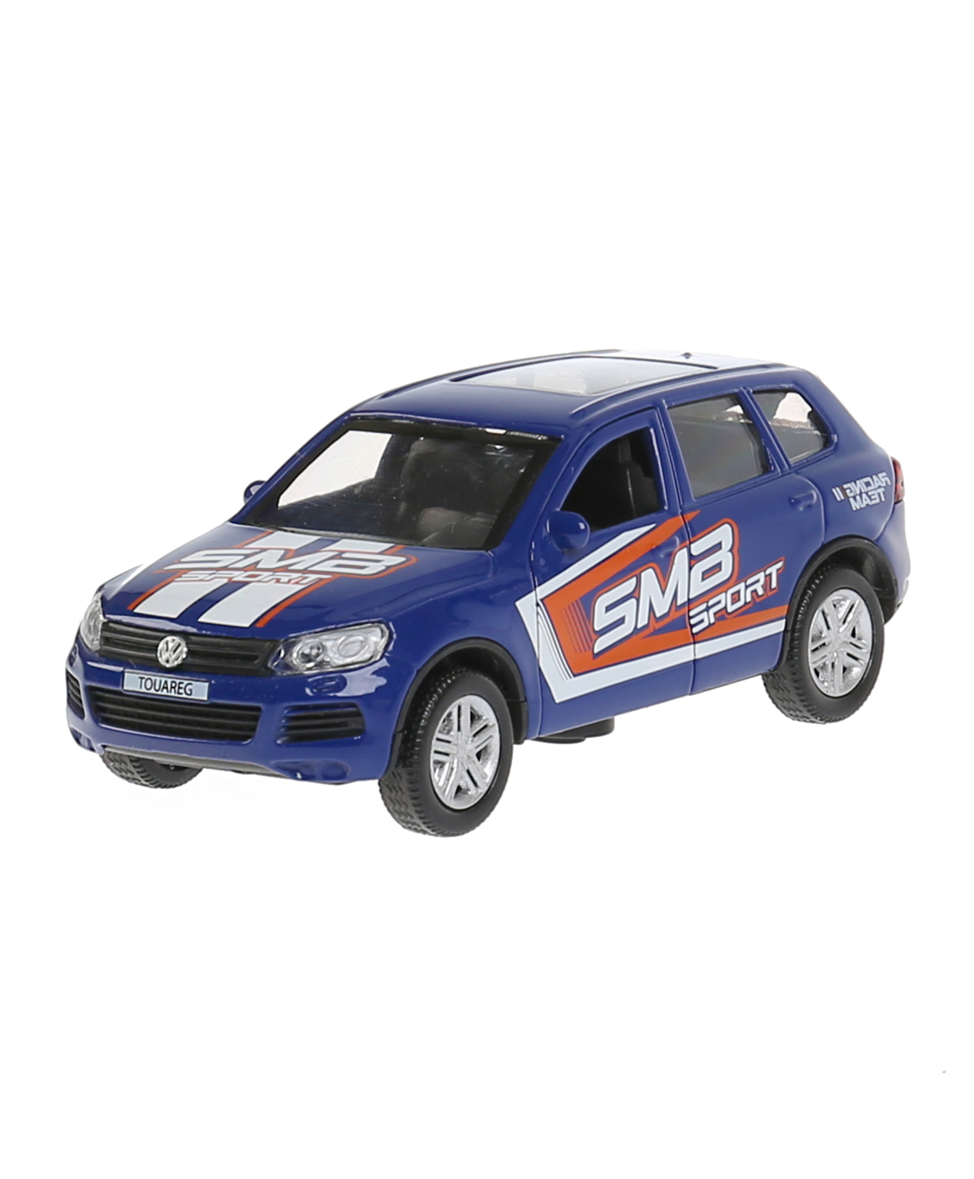"""Технопарк Машина """"VW Touareg спорт"""" 12см, инерционная, со светом и звуком 297508"""