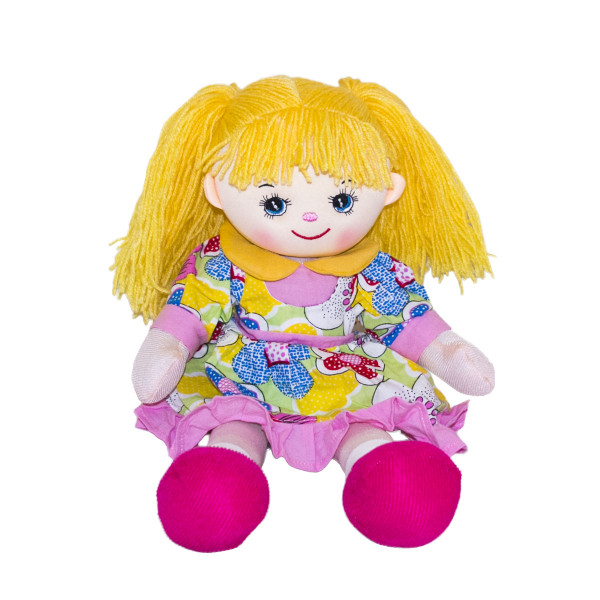 Мягкая кукла Gulliver Лимоника, 30 см