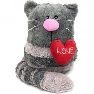 Мягкая игрушка Gulliver Кото-фей с сердцем 23 см