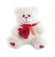 """Мягкая игрушка  """"Button Blue"""", Мишка Гарри с сердечком, 20 см."""