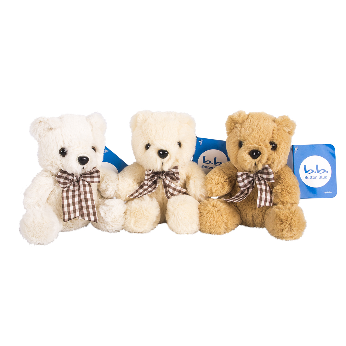Купить 40-HD51704E-15, Мишки Button Blue с бантами в асс-те, 15 см, Button Blue мягкая игрушка (shop: GulliverMarket Gulliver Market)
