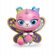 Радужно бабочково единорожная кошка Фигурка с качающейся головой Бабочка