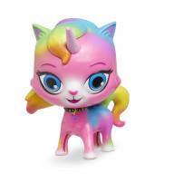 Радужно бабочково единорожная кошка Фигурка с качающейся головой Единорог