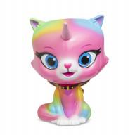 Радужно бабочково единорожная кошка Фигурка с качающейся головой Фелисити