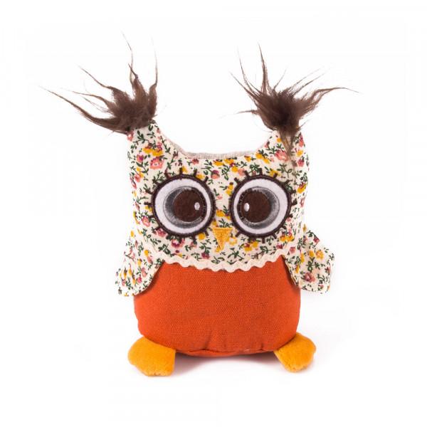 Мягкая игрушка Gulliver Совенок с вышивкой