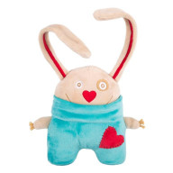 Мягкая игрушка Gulliver Заяц «Я влюбленный», 15 см