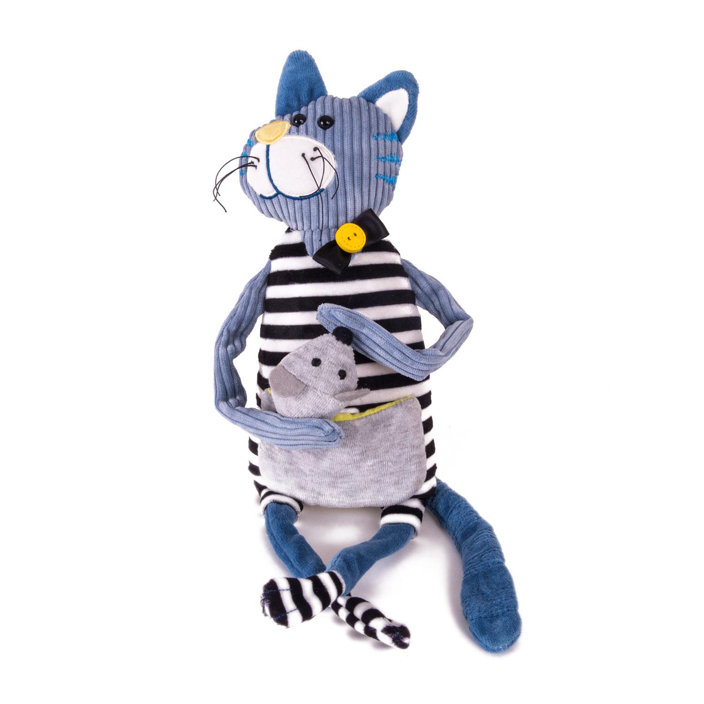 Мягкая игрушка Gulliver Кот Уильям, 21 см