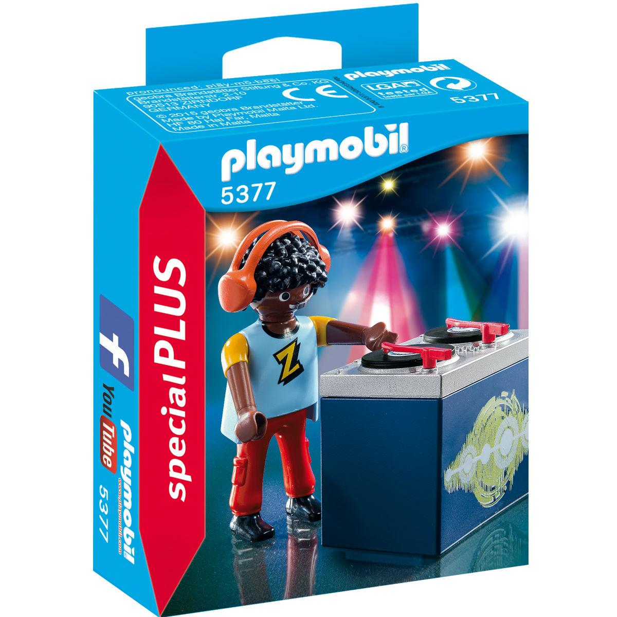 Купить 5377pm, Конструктор Playmobil Экстра-набор: Ди-джей, Мужской|Женский (shop: GulliverMarket Gulliver Market)