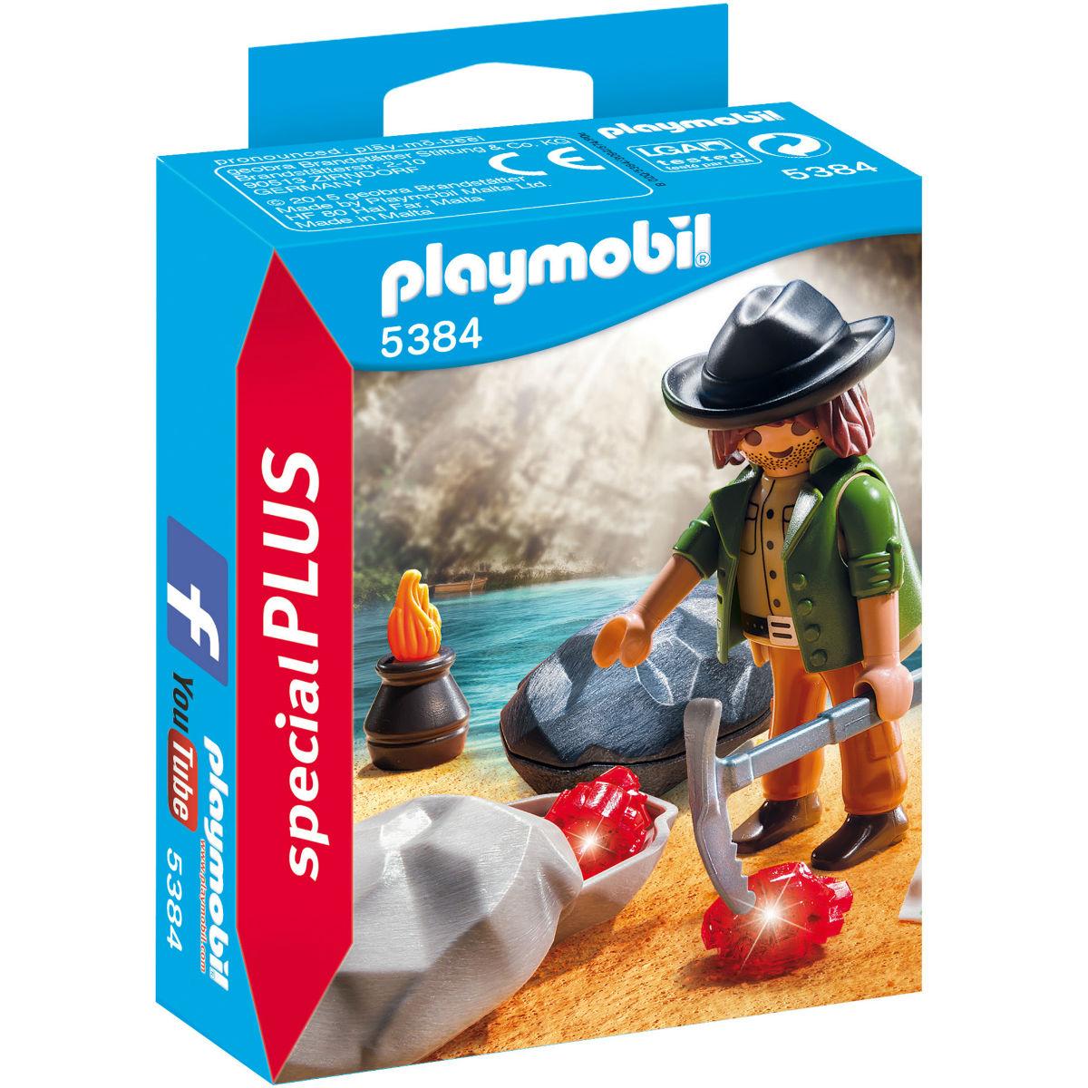 Купить 5384pm, Конструктор Playmobil Экстра-набор: Охотник за драгоценными камнями, Мужской (shop: GulliverMarket Gulliver Market)