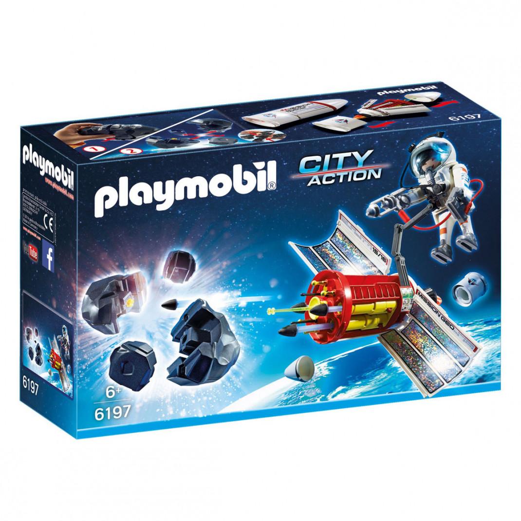 Playmobil Playmobil Конструктор Спутниковый метеороидный лазер