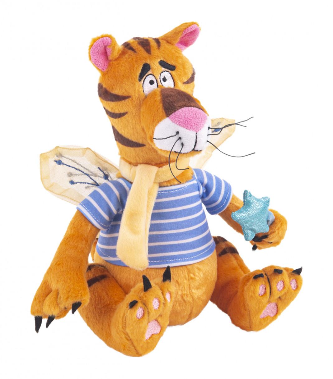 Фото - Gulliver мягкая игрушка Gulliver Тигро-Фей мягкая игрушка, 20 см мягкая игрушка gulliver слоник нежный 20 см