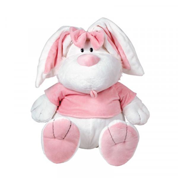 Мягкая игрушка Gulliver Кролик БЕЛЫЙ сидячий, 23 см