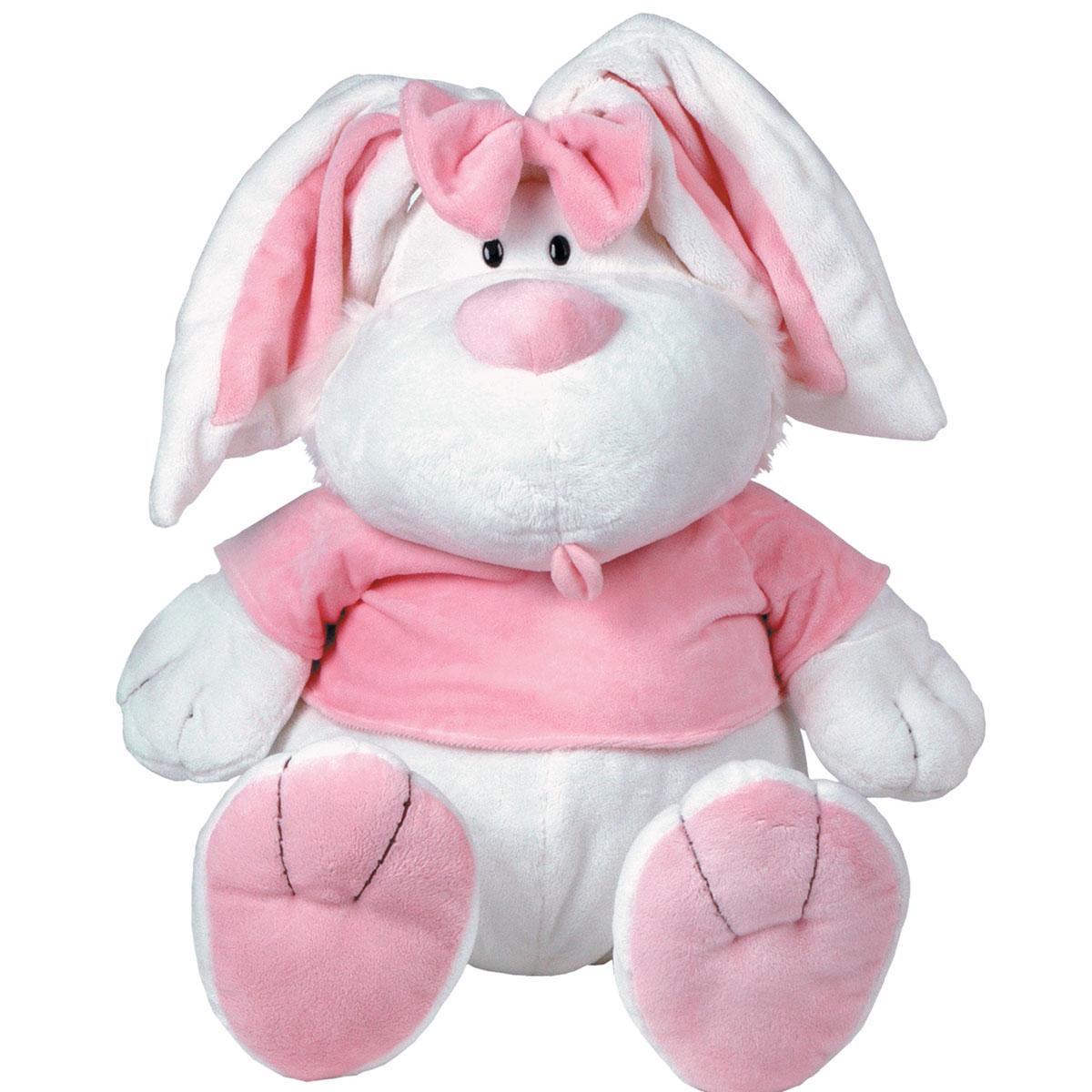 Купить 7-42230, Мягкая игрушка Gulliver Кролик БЕЛЫЙ сидячий 28 (71 см), Gulliver мягкая игрушка (shop: GulliverMarket Gulliver Market)