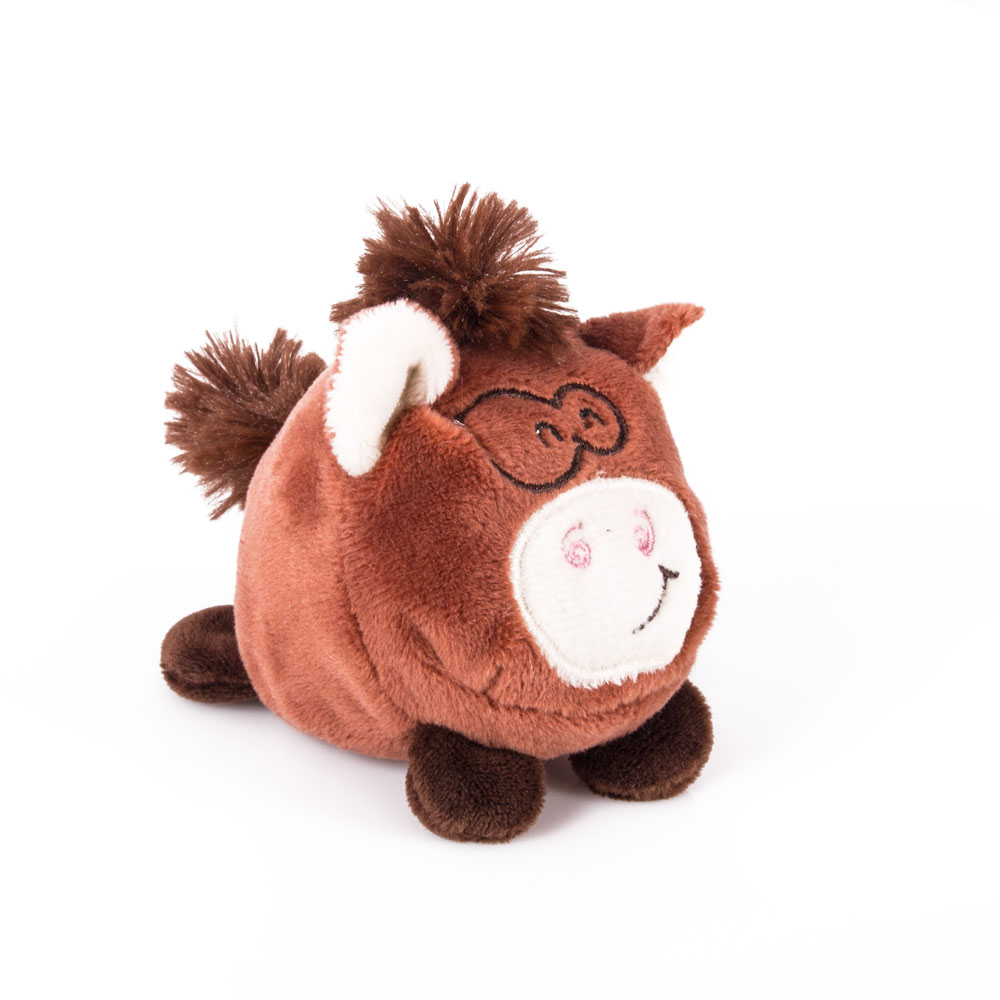 """Мягкая игрушка """"Button Blue"""", Мячик - Мультяшная лошадка, 7 см Button Blue мягкая игрушка 73-1007"""