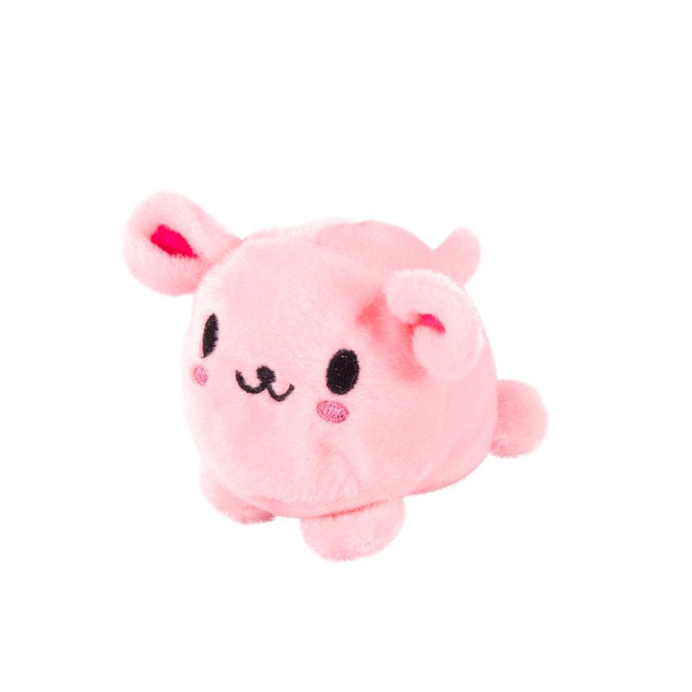 Button Blue мягкая игрушка Розовый кролик
