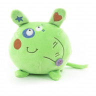 "Мягкая игрушка ""Button Blue"", Мышка зеленая  10 см"