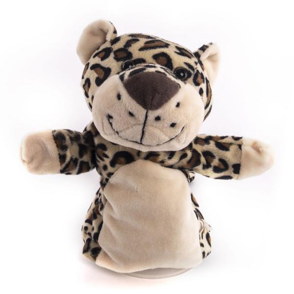 Мягкая игрушка Gulliver Рукавичка Леопард, 25 см.