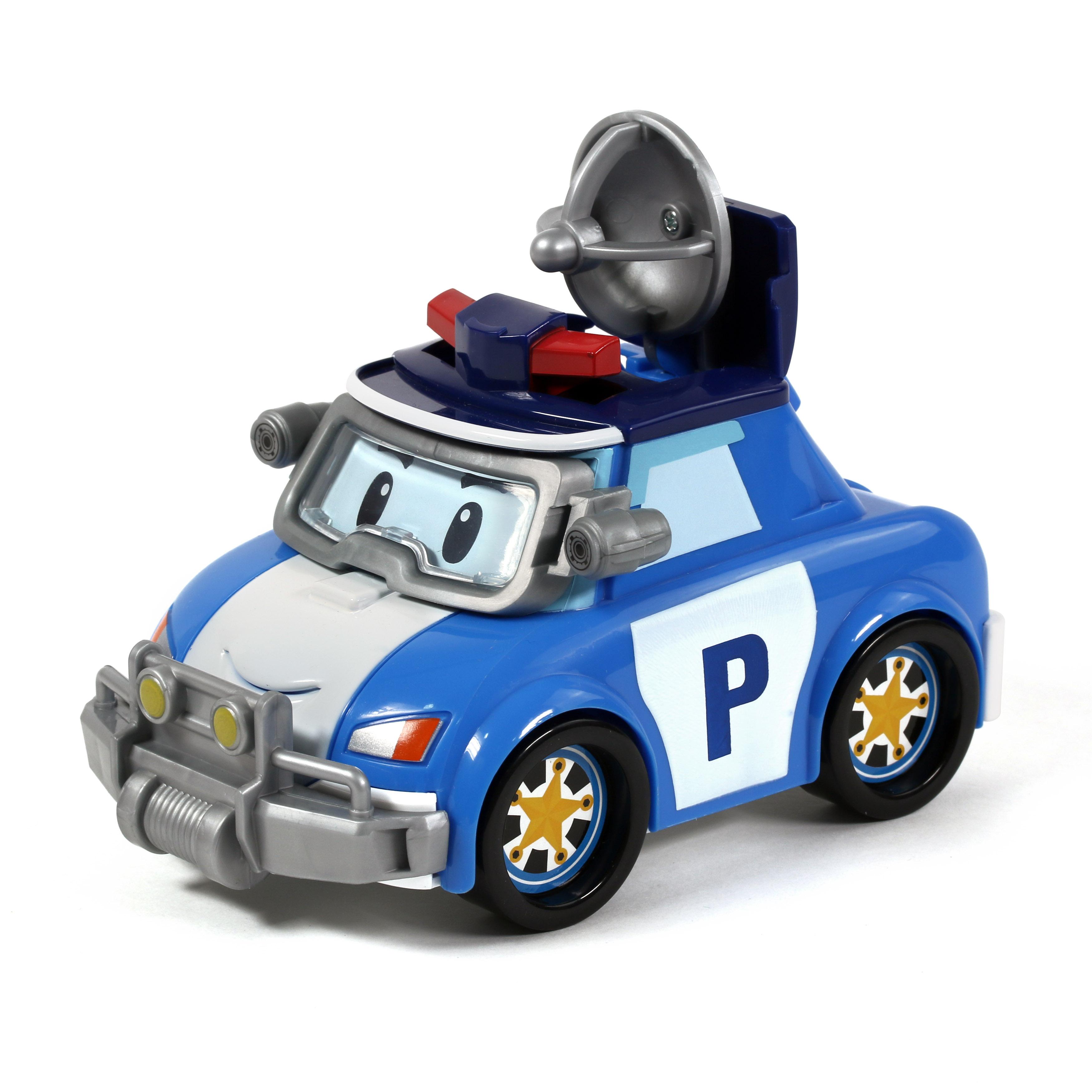 Машинка Robocar Poli Поли с аксессуарами 83392