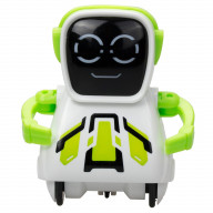 Робот Покибот белый с зеленым