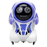 Робот Покибот фиолетовый, круглый
