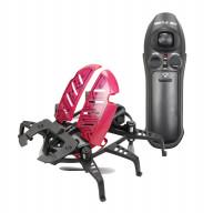 Робот Жук летающий чёрный с красными крыльями