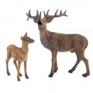 Набор обитателей леса Collecta, 2 фигурки