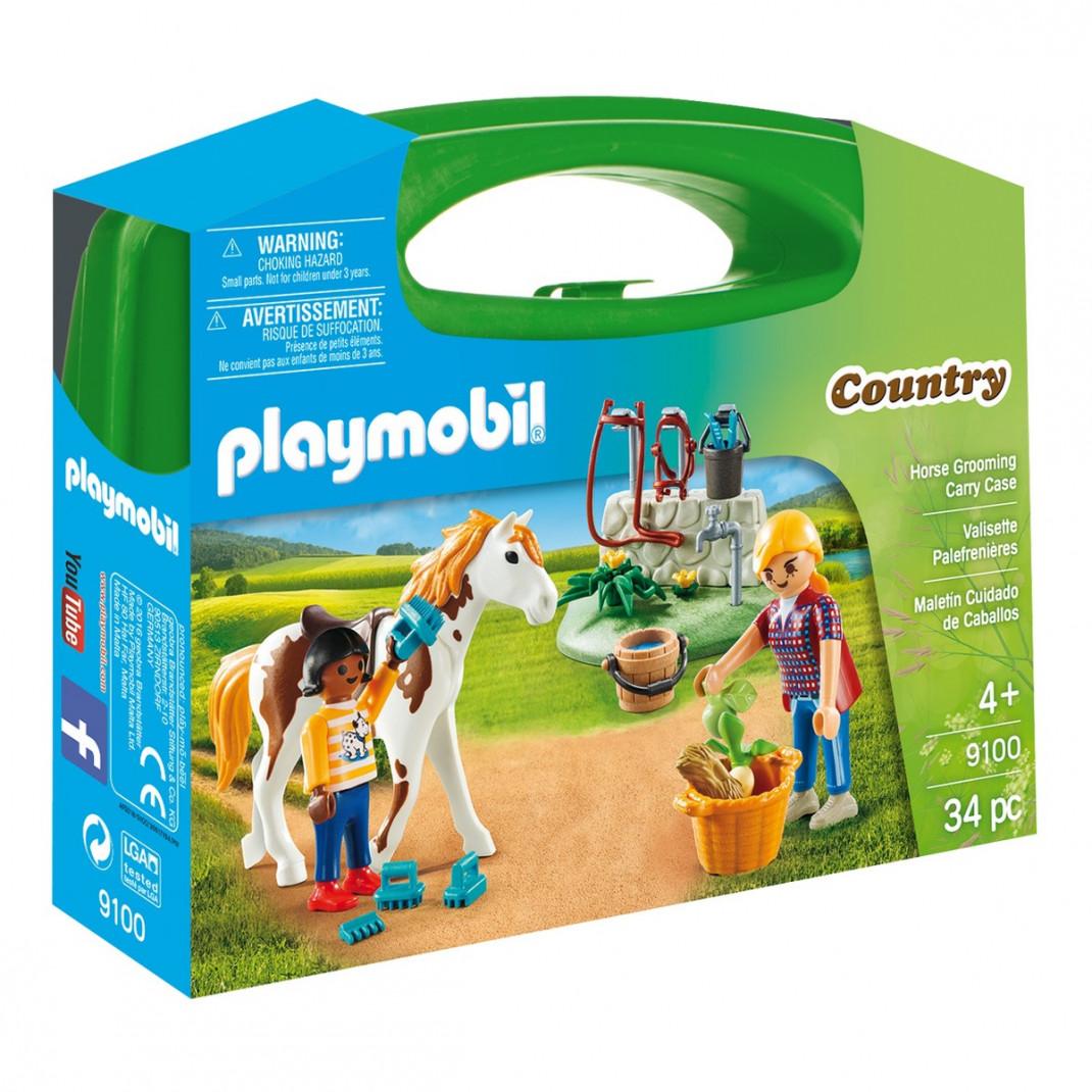 Playmobil Playmobil Конструктор Стрижка лошадей