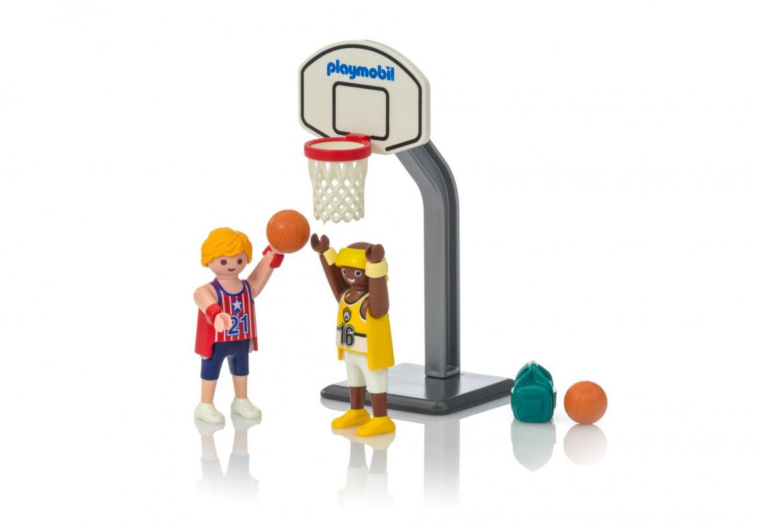 Playmobil Playmobil Конструктор Яйцо Баскетбол один на один