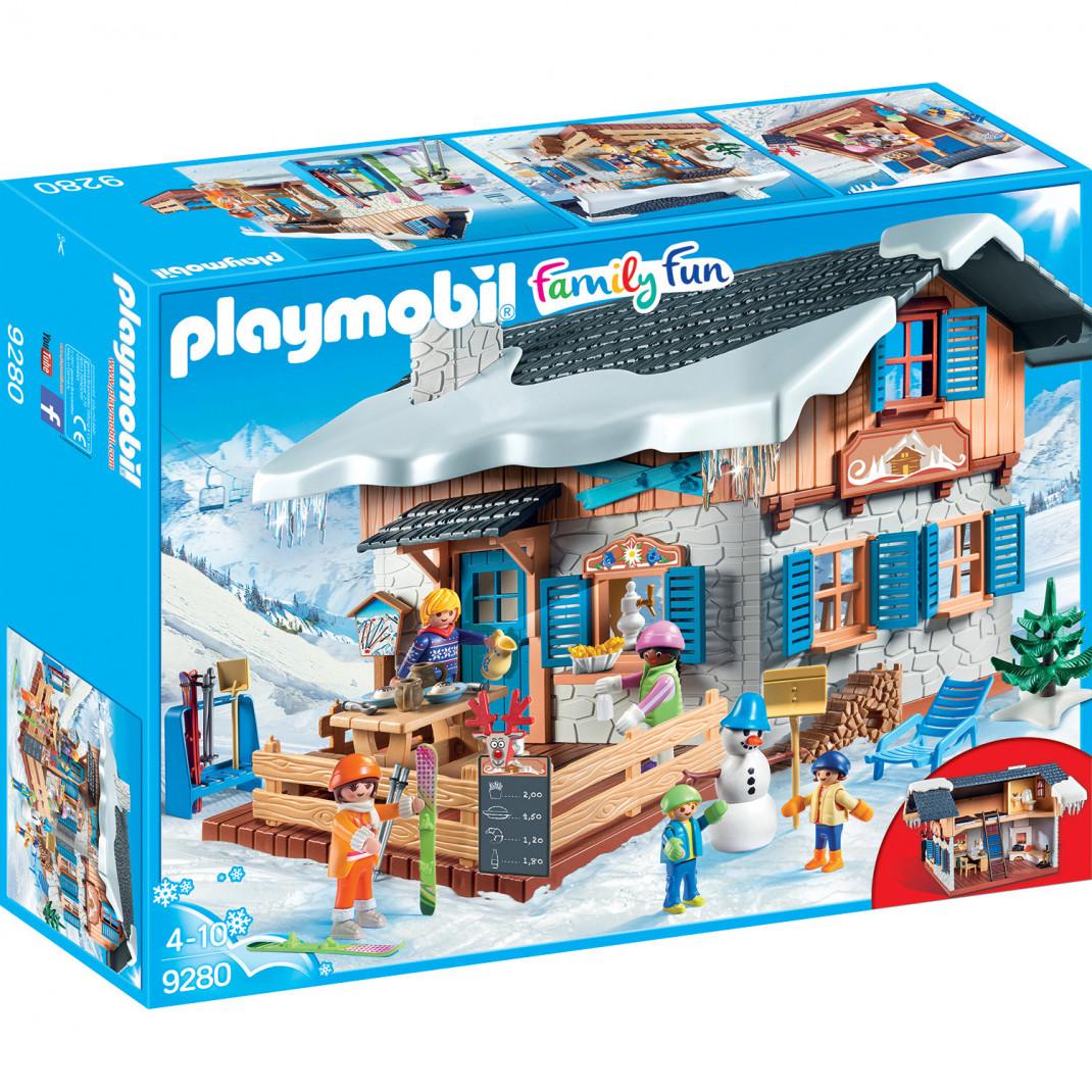 Playmobil Конструктор Playmobil Зимние виды спорта: Лыжная база