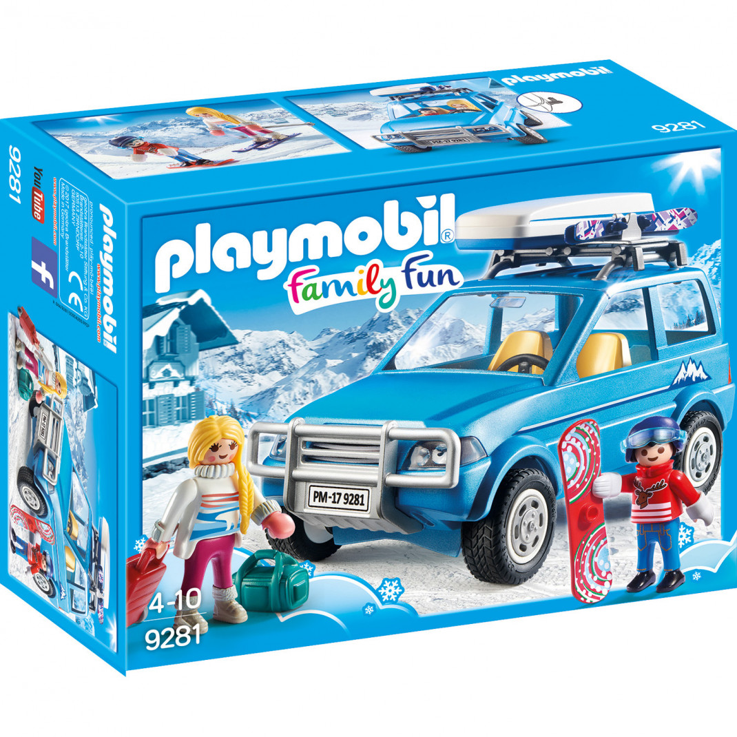 Playmobil Конструктор Playmobil Зимние виды спорта: Зимний внедорожник