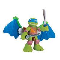 Фигурка Черепашки-ниндзя 6 см Лео с планером, серия Half Shell Hero