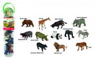 Набор миниатюр - дикие животные №1
