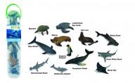 Набор миниатюр - морские животные №1