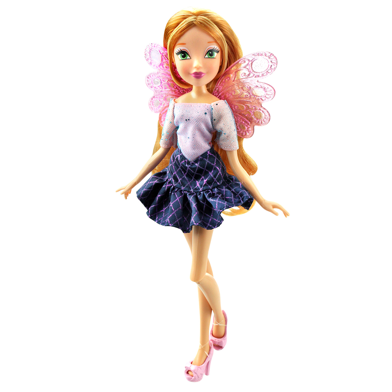 Купить IW01541802, Кукла Winx Club Два наряда , Флора, Женский (shop: GulliverMarket Gulliver Market)