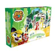 Игровой набор EVA  Лео и Тиг, 7 героев мультсериала, 27 элементов.