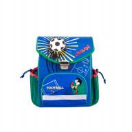 Школьный рюкзак Футбол (синий)